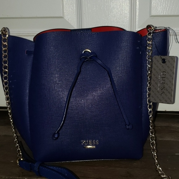 Guess Handbags - Navy Blue Guess Bag